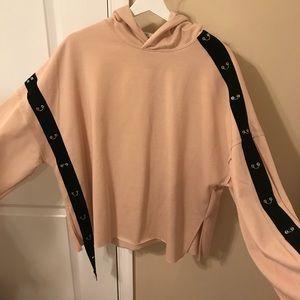 Zara detailed feminine grunge sweater